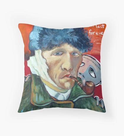 Vincent (brainstemming.com) Throw Pillow