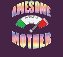 AWESOME MOTHER Womens Fitted T-Shirt