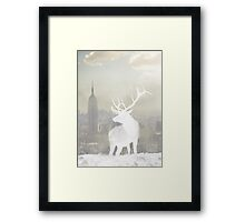 NYC stag Framed Print