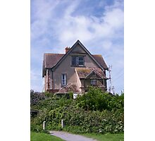 Devons Haunted House Photographic Print