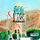 Los Angeles Car Wash by Mary Ann Michna