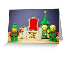 Santa's Coming Greeting Card