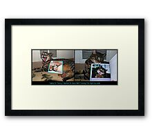 I Am Published!! Framed Print