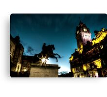 Twilight Capital Canvas Print