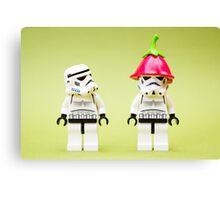 A Stormtrooper's Hangover Canvas Print