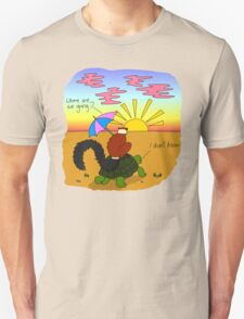 Tienka and Tara Go Travelling Unisex T-Shirt