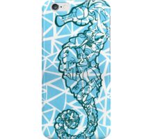 Blue Seahorse iPhone Case/Skin