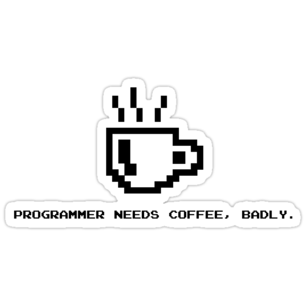 Programmer Needs Food Badly by AngryMongo