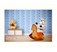 It's A Boy! Art Print