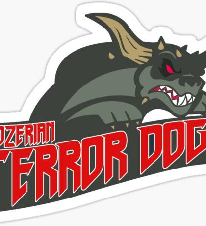 Gozerian Terror Dogs Sticker