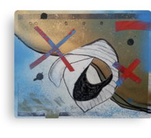 Flotsam and Jetsum X (second series) Canvas Print