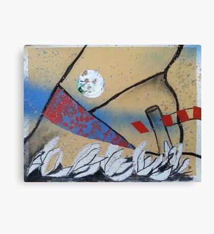 Flotsam and Jetsum Moon (second series) Canvas Print