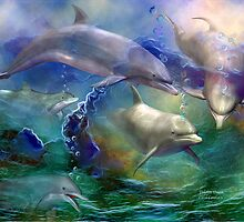 Dolphin Dream by Carol  Cavalaris