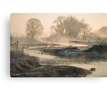 In To The Mystery - Sunrise At White Rock Canvas Print