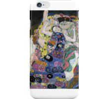 Klimt The Maiden iPhone Case/Skin