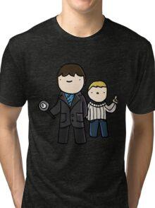 I like mysteries Tri-blend T-Shirt