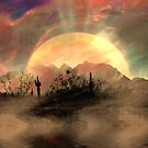 Desert Sunset by CarolM