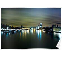 Sunrise Over The Thames  Poster