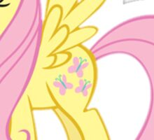 Flutter Shy Sticker