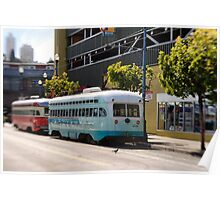 San Francisco: Street Cars Poster