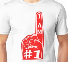 I am #1 Tee (Red) Unisex T-Shirt