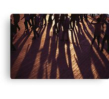 Dancing Shadows Canvas Print