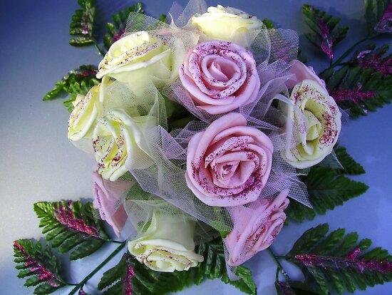 bouquet at a wedding by demonkourai