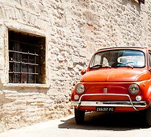 Fiat 500, iconic Italian car from 1960's by brians101