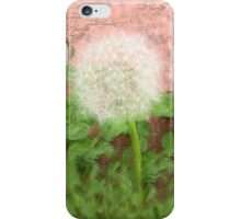 Is a danelion a flower? iPhone Case iPhone Case/Skin