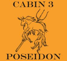 Camp Halfblood - Poseidon Cabin by PJOCommittee