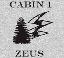 Camp Halfblood - Zeus Cabin Kids Tee