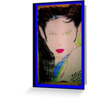 AnOther OReilly ORiginal Painting HALF PINT as  nagel model Greeting Card