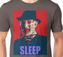 "Freddy Krueger ""SLEEP"" A Nightmare On Elm Street Parody  Unisex T-Shirt"