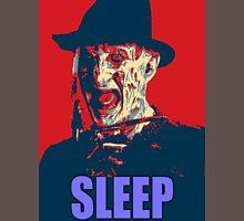 "Freddy Krueger ""SLEEP"" A Nightmare On Elm Street Parody  T-Shirt"