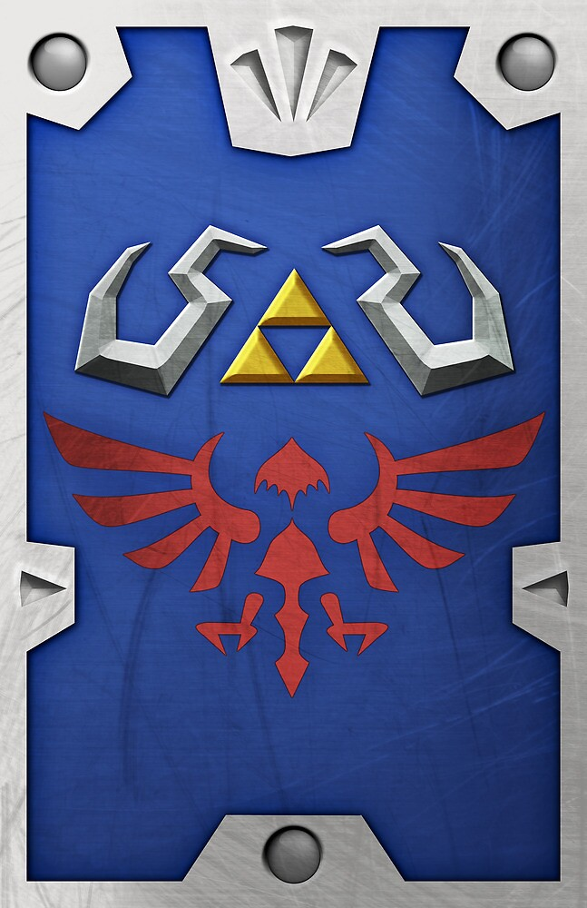 Zelda Hylian Shield (Skyward Sword)  by Ayax Alarcon