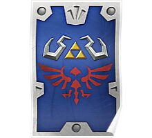 Zelda Hylian Shield (Skyward Sword)  Poster