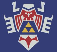 Zelda Hylian Shield (Majora's Mask) Shirt by Ayax Alarcon