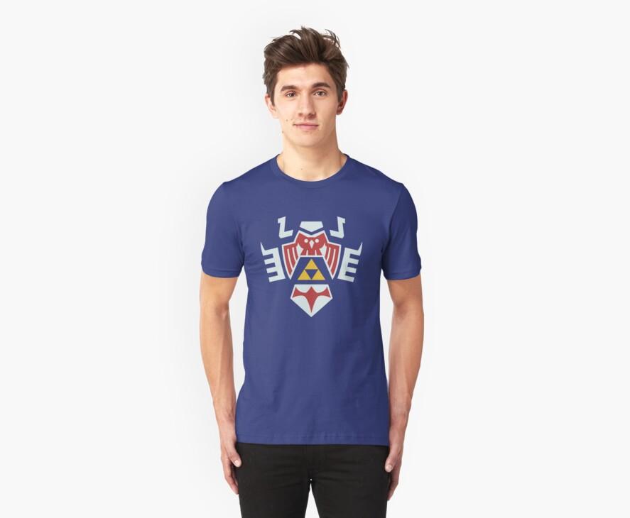 Zelda Hylian Shield (Majora's Mask) Shirt by Ayax Alarcon