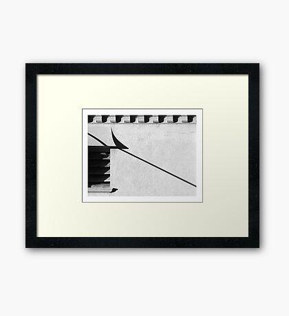 Like a bird Framed Print