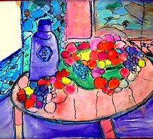 AnOther_OReilly_ORiginal_Painting_50 shades of fruit by Timothy C O'Reilly
