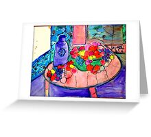 AnOther_OReilly_ORiginal_Painting_50 shades of fruit Greeting Card