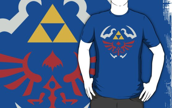 Zelda Hylian Shield (Twilight Princess) Shirt by Ayax Alarcon