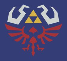 Zelda Hylian Shield (Skyward Sword) Shirt by Ayax Alarcon