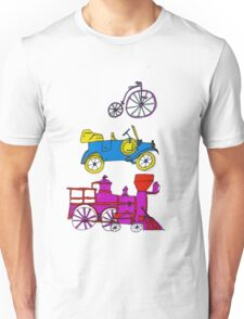 Vintage Transportation Tee Shirt Unisex T-Shirt