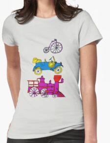 Vintage Transportation Tee Shirt T-Shirt