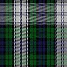 00537 Black Watch (Symmetrical) Military Tartan Fabric Print Iphone Case by Detnecs2013