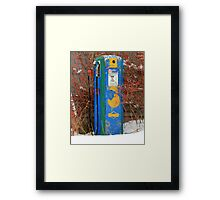 Lower Gas Prices Framed Print