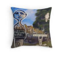 Nap Time (brainstemming.com) Throw Pillow