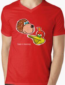 Bajo n Kazoop Mens V-Neck T-Shirt
