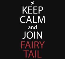 fairy tail keep calm and join fairy tail anime manga shirt by ToDum2Lov3